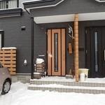 45925116 - 入口;きっちり除雪して有りました(^^)b @2015/12/28