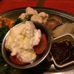 45927245 - お野菜の惣菜盛り