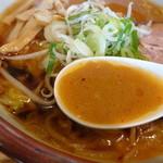 らーめん 田中商店 - スープアップ