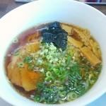 麺侍どらぁご - ショウガ醤油