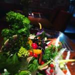 Osteria 吉田PASTA BAR - 野菜のバーニャカウダ@コース