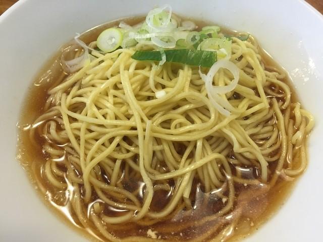 自家製麺 伊藤 - シナそば(具なし)