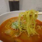 麺好み いまむら - 唐辛」と「辛みそ」のW辛味600円