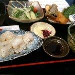 焼ふぐ夢鉄砲 - 河豚の押し寿司(ランチ)
