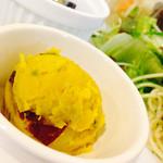 わらうかど庭 - 甘めのカボチャサラダ