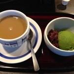 Kagonoya - セット選べるデザート 抹茶アイス
