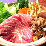 巌廻 - 天然猪ぼたん鍋