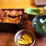 うなぎ・和食 冨喜寄 - 料理写真:鰻重御膳(松) 3550円