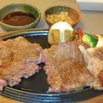 レストラン岡崎 - 極上サーロイン350g