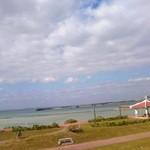 45938065 - テラスから見た海♪(ホントはベランダですがw)