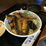 天ぷらたくみ - 日替わりはいわしの照り焼き丼!旨!