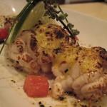 ワインバル ロゼッタ - 季節限定 真鱈白子の炙り焼き