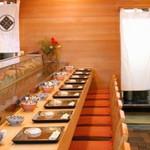 秀寿司 - 秀寿司(青森市堤町)店内カウンター