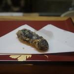 天ぷら たけうち - バッテン茄子