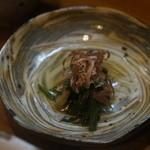 天ぷら たけうち - 箸休め