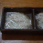 天ぷら たけうち - 塩麹が付きました