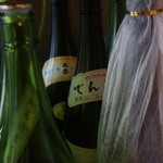 天ぷら たけうち - 田酒に呉春もある