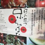 京ちゃばな 南船場店 - 京ちゃばな 南船場店(大阪市中央博労町)説明書