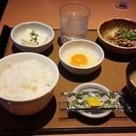 やよい軒 - 納豆朝食 370円