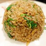 新福菜館 - 黒い炒飯並