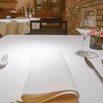 リストランテ クロディーノ - 201512テーブルセッティング