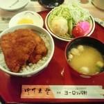 45954968 - ミニカツ丼セット