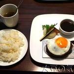 The Burg&Burger JiRi - しまざき壮健牛&国産豚ハンバーグステーキ