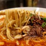 175°DENO担担麺 - 麺リフト