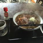 ことぶき寿司 - ことぶき寿司さん 中華そばの大盛り〜縮れ細麺です。スープが美味しいです。また食べたい一杯です。それに、さすがお寿司屋さん。お茶がとても美味しかったです。