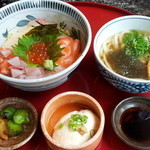 45957247 - 【2015年12月】海鮮丼御前 1000円
