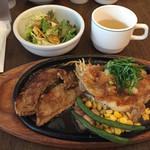 ふらんす亭 - チキンステーキ&薄切りステーキ