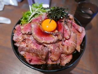 キャメルダイナー 京都店 - ローストビーフ(ダブル)1200円