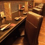 小樽食堂 - カウンター 2名様×3