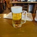 大衆酒場 玉井 - 立ち飲み席の最初の一杯はお酒が100円。