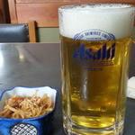 そば酒房はなわ - 料理写真:生ビールはスーパードライ650円