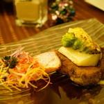 レ・サンス - ディナーコース (¥8,000) (肉料理)
