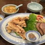 45963692 - 豚の天ぷら定食