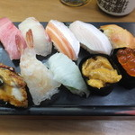 立喰い寿司 七幸 - 特上にぎりです☆ 2015-1224訪問