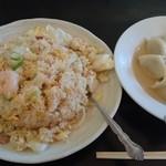 味楽 - 五目チャーハン+水餃子
