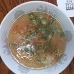 支那そば一麺 - 塩ワンタンスープ