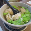 九如 - 料理写真:蝦仁饂飩湯(95元)