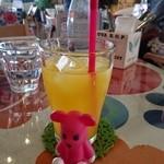 オレンジ カウンティ Cafe - オレンジジュース 250円