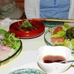 沖縄食彩 あじまあ - 刺身 らふてぃ 海ぶどうのサラダ