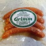 Grimm - ケーゼブルスト100g370円茹でると旨い