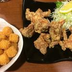 長州屋 - チーズカリカリ&鳥のから揚げ