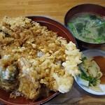 味処あさみ - 穴子天丼 1200円 (^^