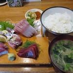 味処あさみ - 刺身定食上 1900円 (^^