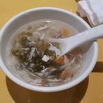45973317 - ランチのスープ