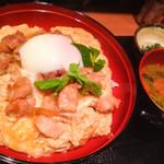 森川 - ランチ「究極の親子丼」900円