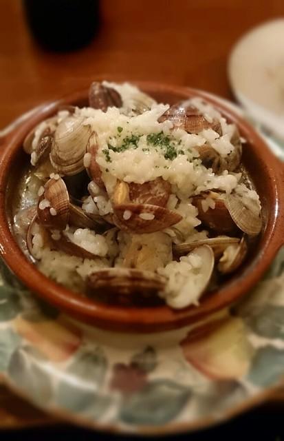 バル・エンリケ - バスク地方のあさりご飯!!ヾ(^o^) ちょっと食べにくい?